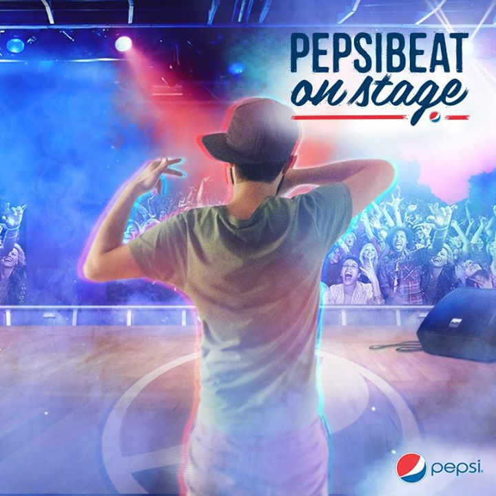 Pepsi Beat  On Stage-rapper