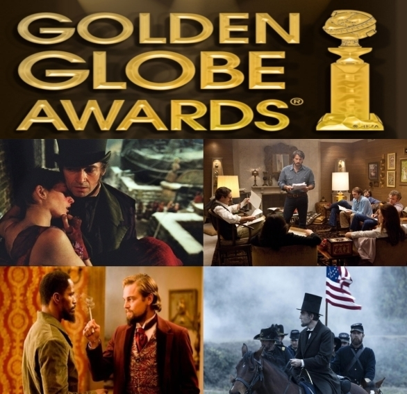 "Golden Globes 2013: 7 nomination per ""Lincoln"". In lizza anche Tarantino e Affleck"