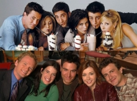 """Friends"" e ""How I Met Your Mother"": serie simili per epoche diverse"