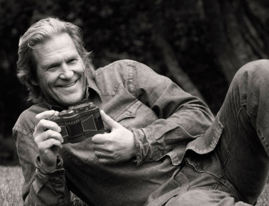 Set cinematografico e Widelux F8: l'altra faccia di Jeff Bridges